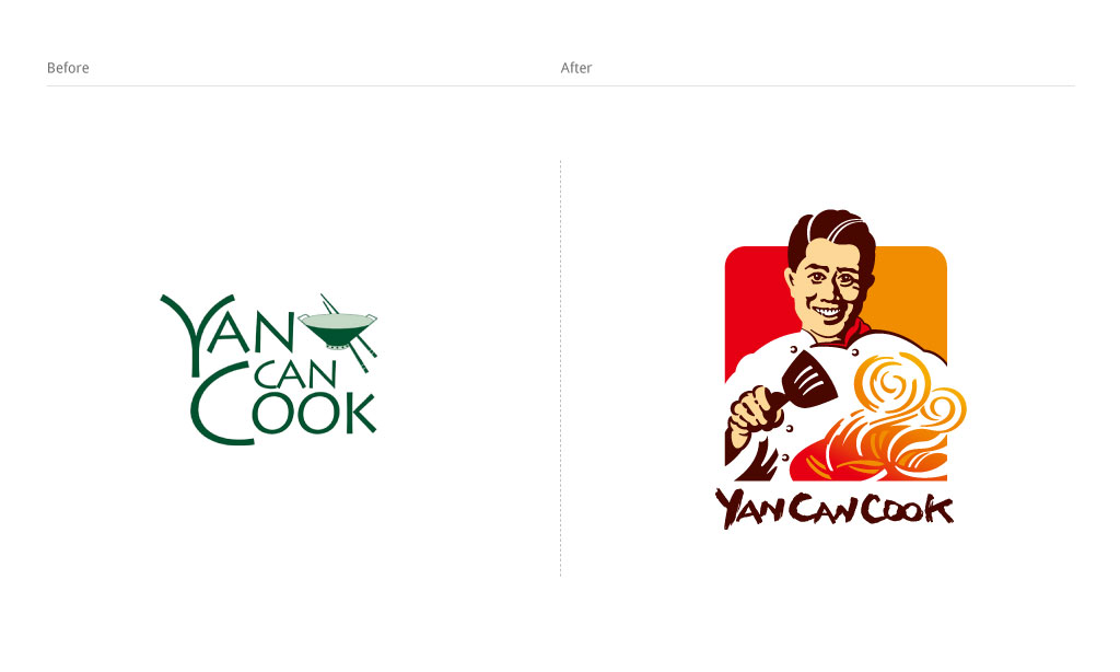Yan-Can-Cook-標誌進化